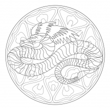 Mandalas Sur Le Thme Des Animaux 100 Zen