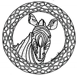 Mandala Hibou Chouette Mandalas Sur Le Theme Des Animaux 100