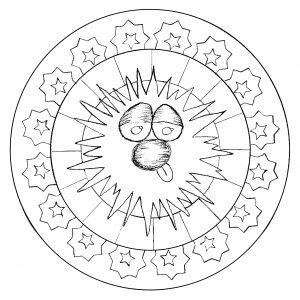 Mandala personnage par domandala 2