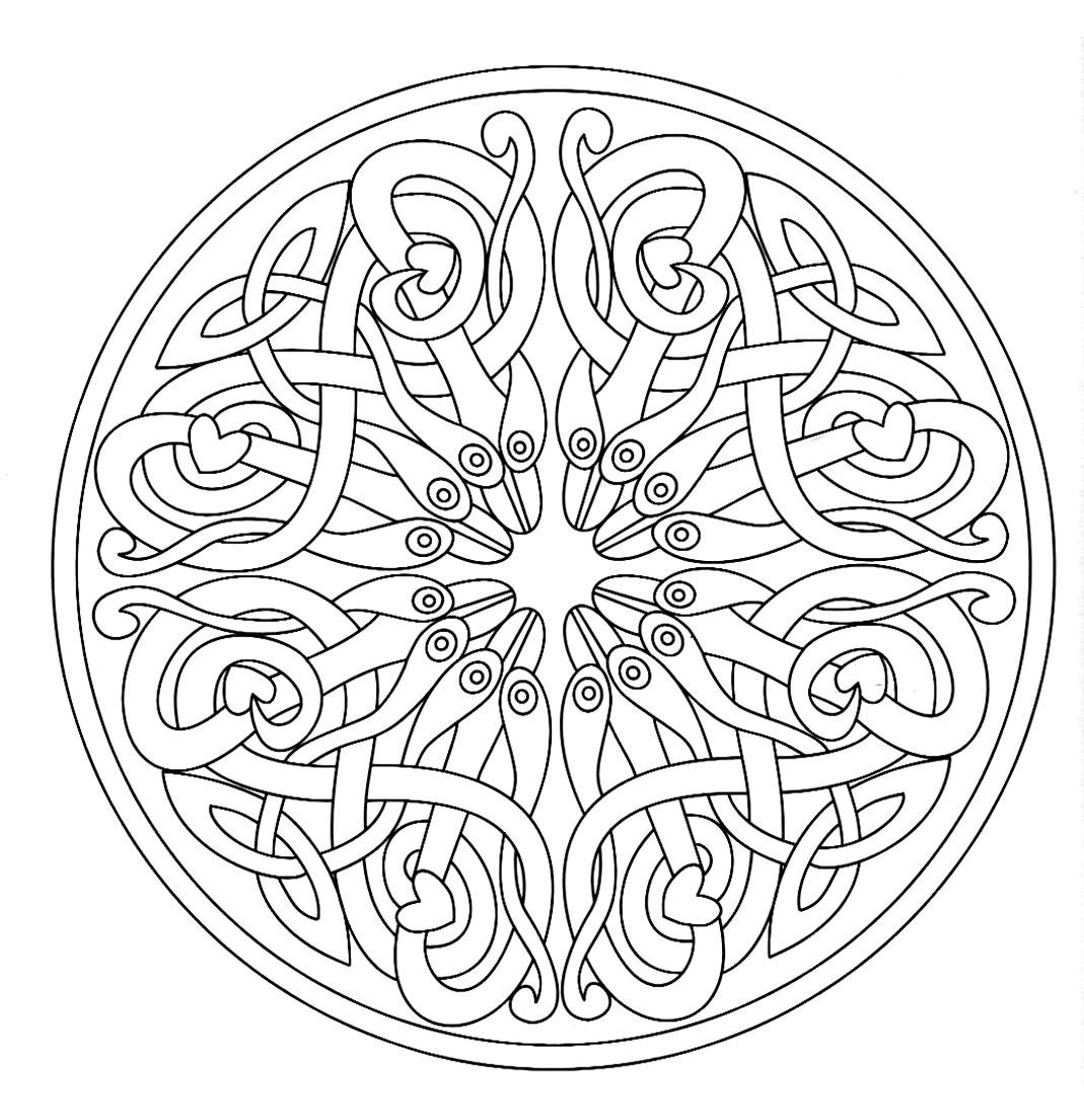 Mandala a colorier adulte difficile 17 | Mandalas difficiles (pour ...