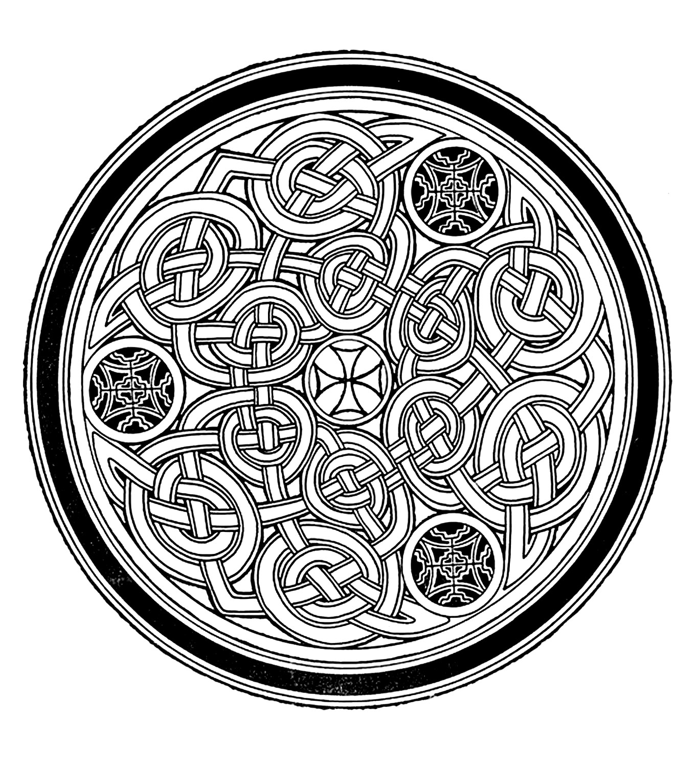 Coloriage Mandala Complique.Mandala A Colorier Difficile 3 Mandalas Difficiles Pour Adultes