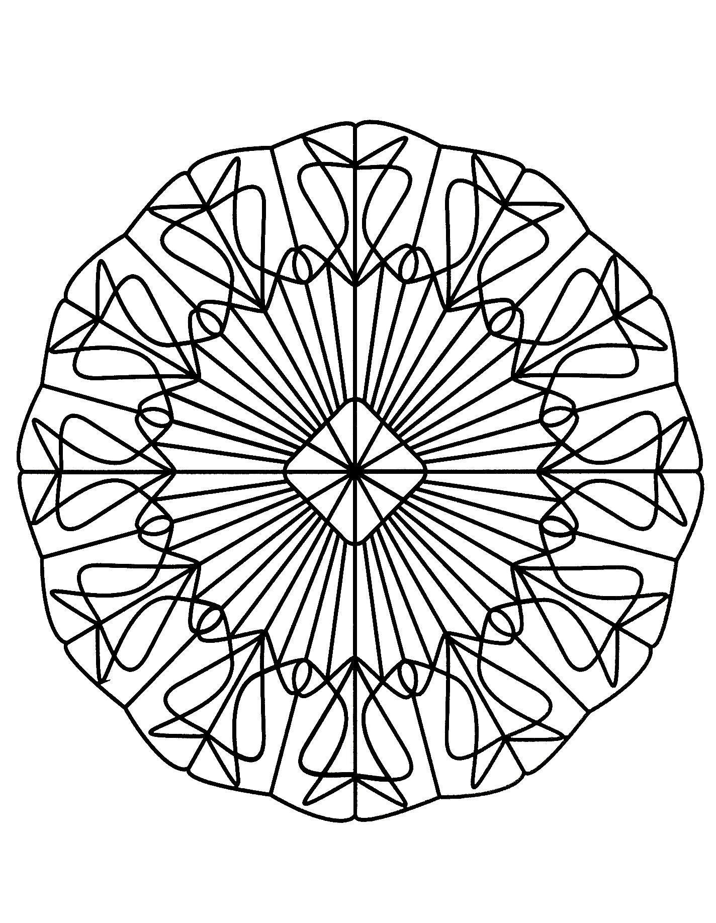 Mandala Magique Mandalas Difficiles Pour Adultes 100