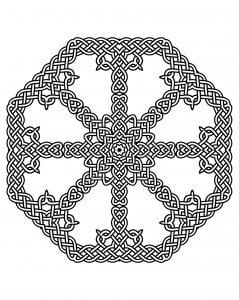 Joli Mandala harmonieux celtique