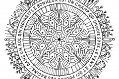 Coloriage Adulte Citation.Mandala A Colorier Difficile 28 Mandalas Difficiles Pour Adultes