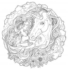 Coloriage Licorne A Imprimer Trackidsp 006.Mandalas Difficiles Pour Adultes 100 Mandalas Zen Anti Stress