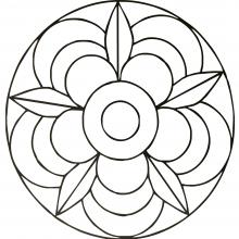Coloriage Mandala Gratuit Top Coloriage Mandala Gratuit Mandala