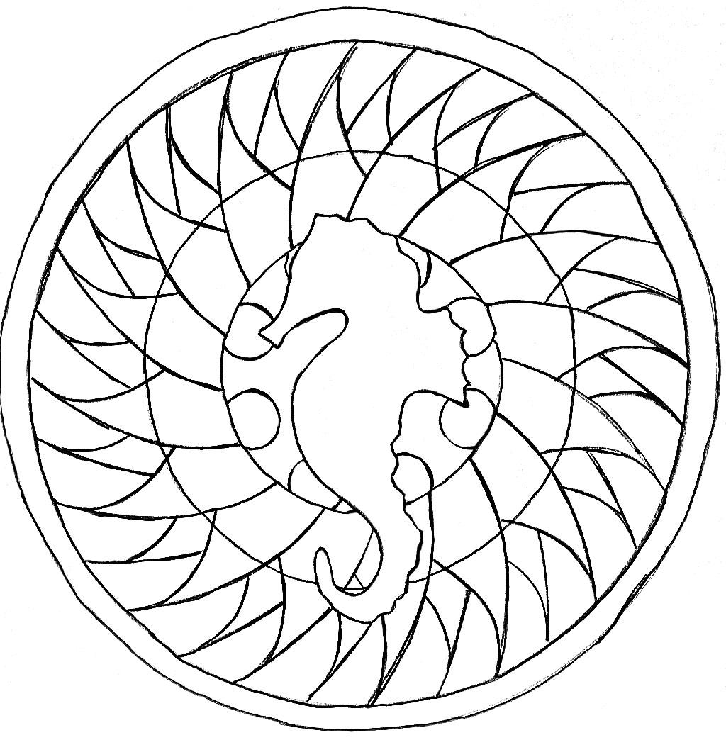 Mandala facile mandalas faciles pour enfants 100 - Mandalas animaux ...