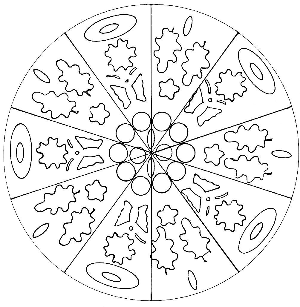 mandala facile mandalas faciles pour enfants 100 mandalas zen anti stress. Black Bedroom Furniture Sets. Home Design Ideas