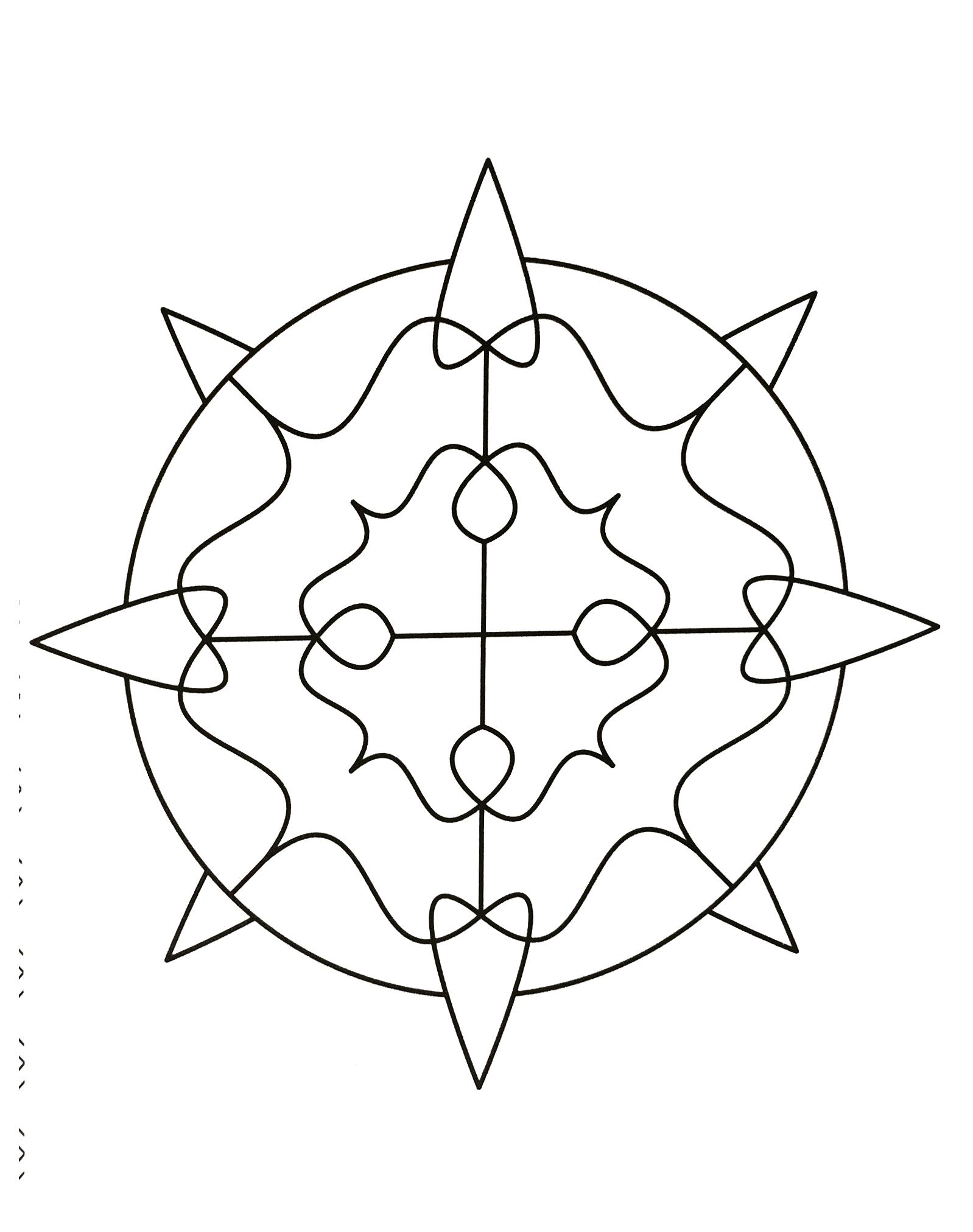 Mandala Pour Enfants Mandalas Faciles Pour Enfants