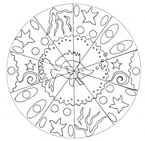 Simple Mandala Poisson