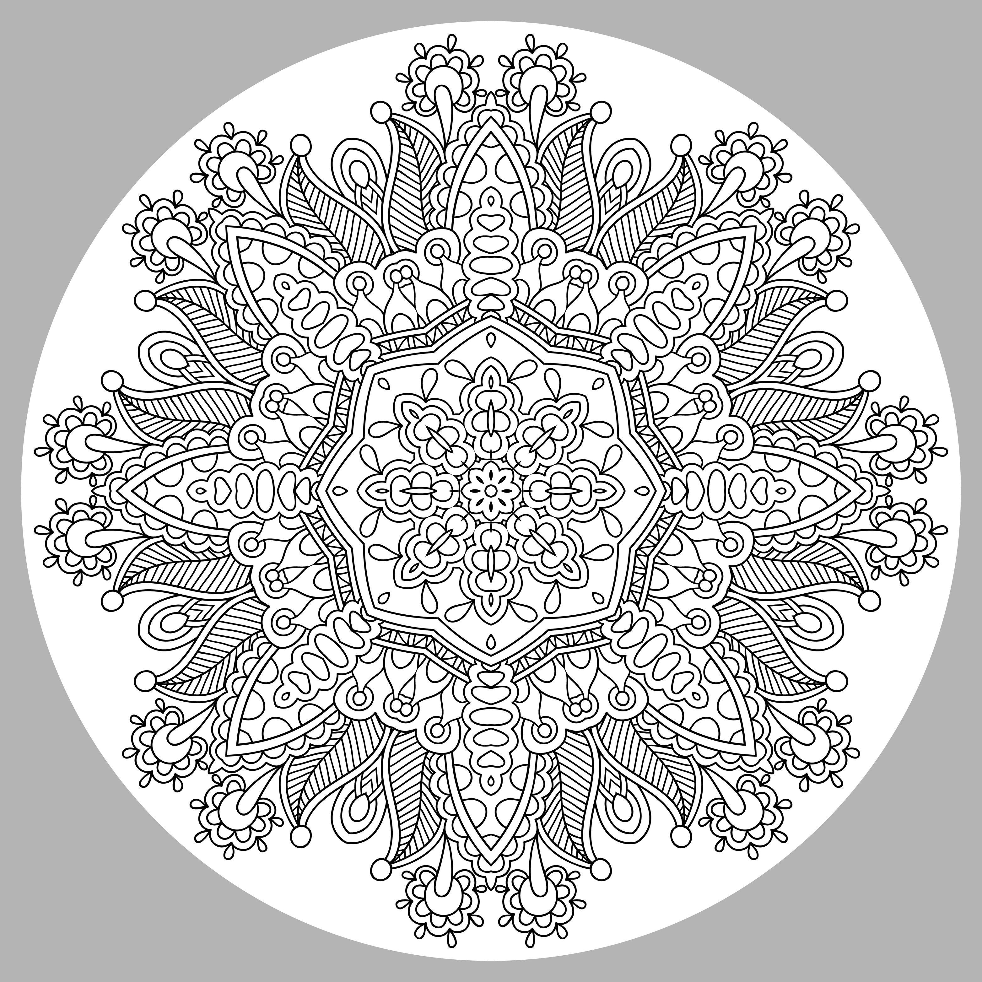 Mandala Complexe Par Karakotsya 3