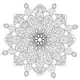 Mandala Anti stress fleuri