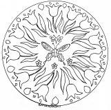Mandala fleuri exclusif