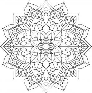 Mandala floral pour tous