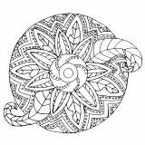 Mandala Végétal / Métal