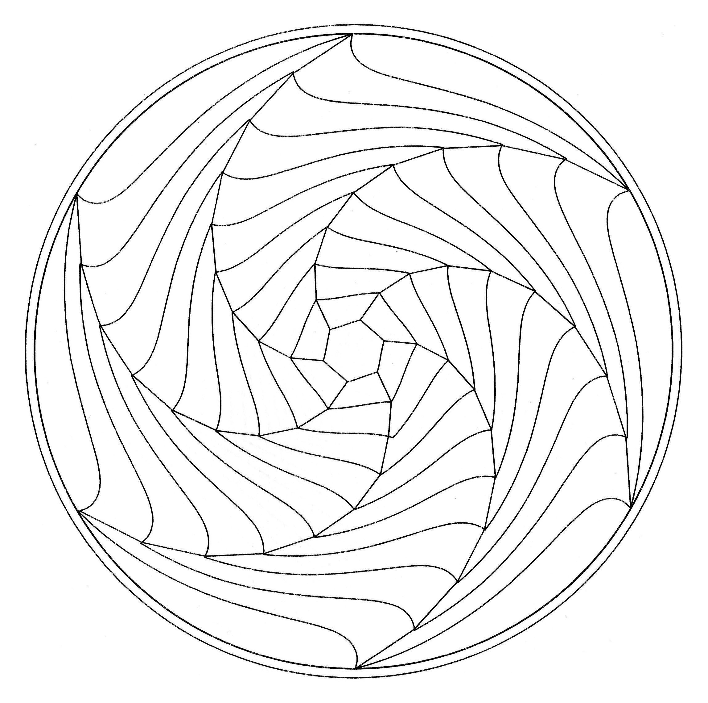Luxe Dessin A Colorier Et A Imprimer Mandala
