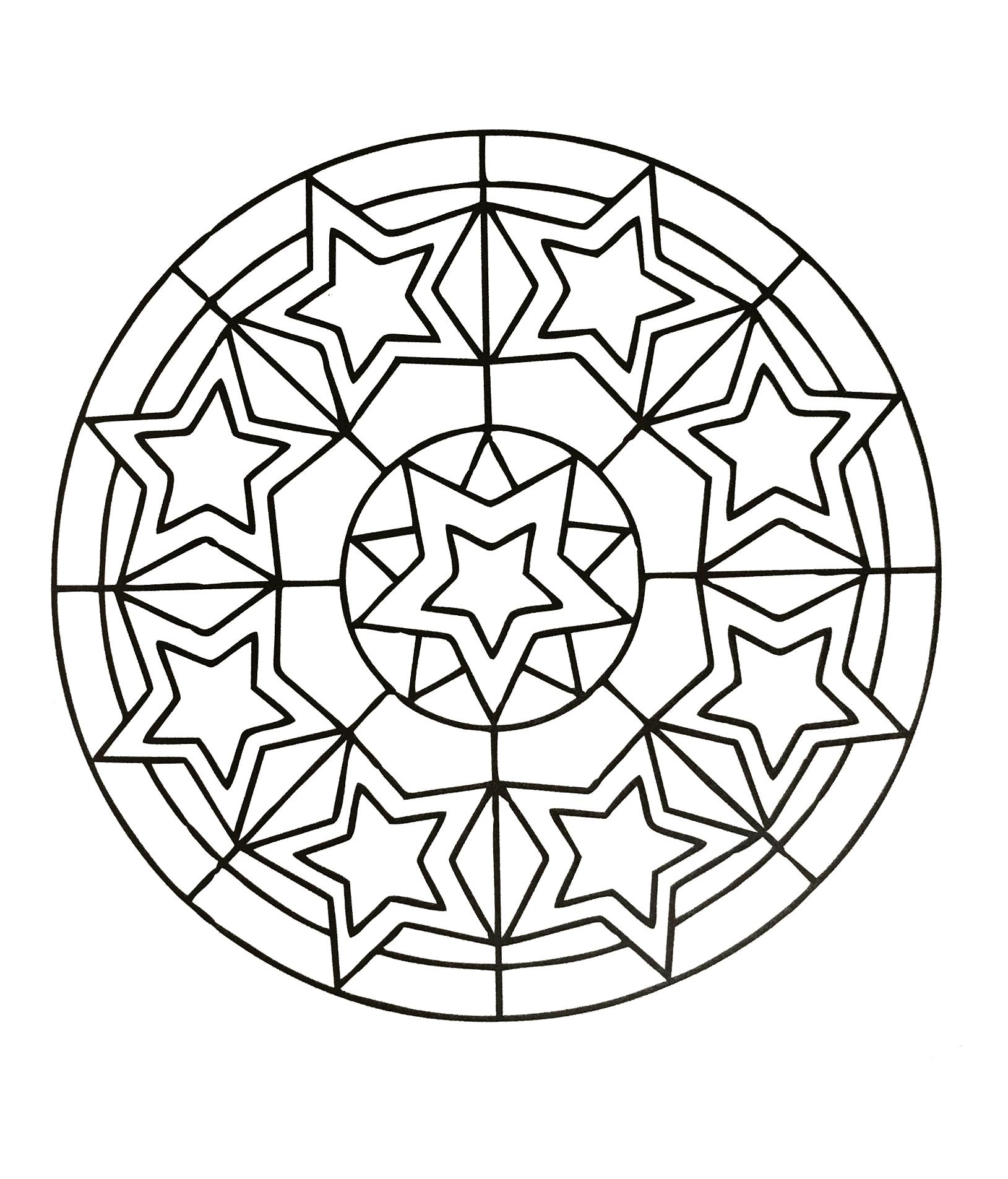Mandalas A Imprimer Gratuit 49 Mandalas Avec Motifs Geometriques 100 Mandalas Zen Anti Stress