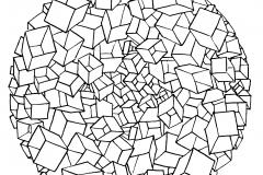 Mandala a colorier motifs geometriques (15)