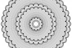 Mandala a colorier motifs geometriques (4)