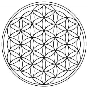 Cercles géométriques (rosaces)