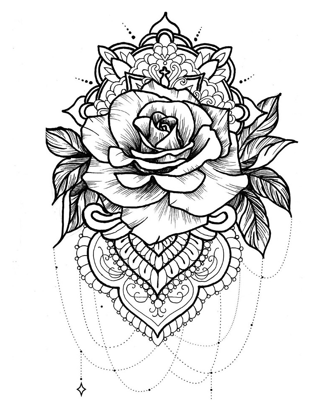Mandala Idee Inspiration Tatouage 3 Inspiration Idees De