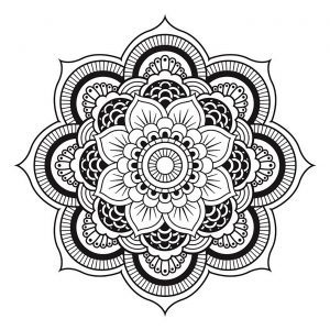 inspiration id es de tatouages mandalas 100 mandalas zen anti stress. Black Bedroom Furniture Sets. Home Design Ideas