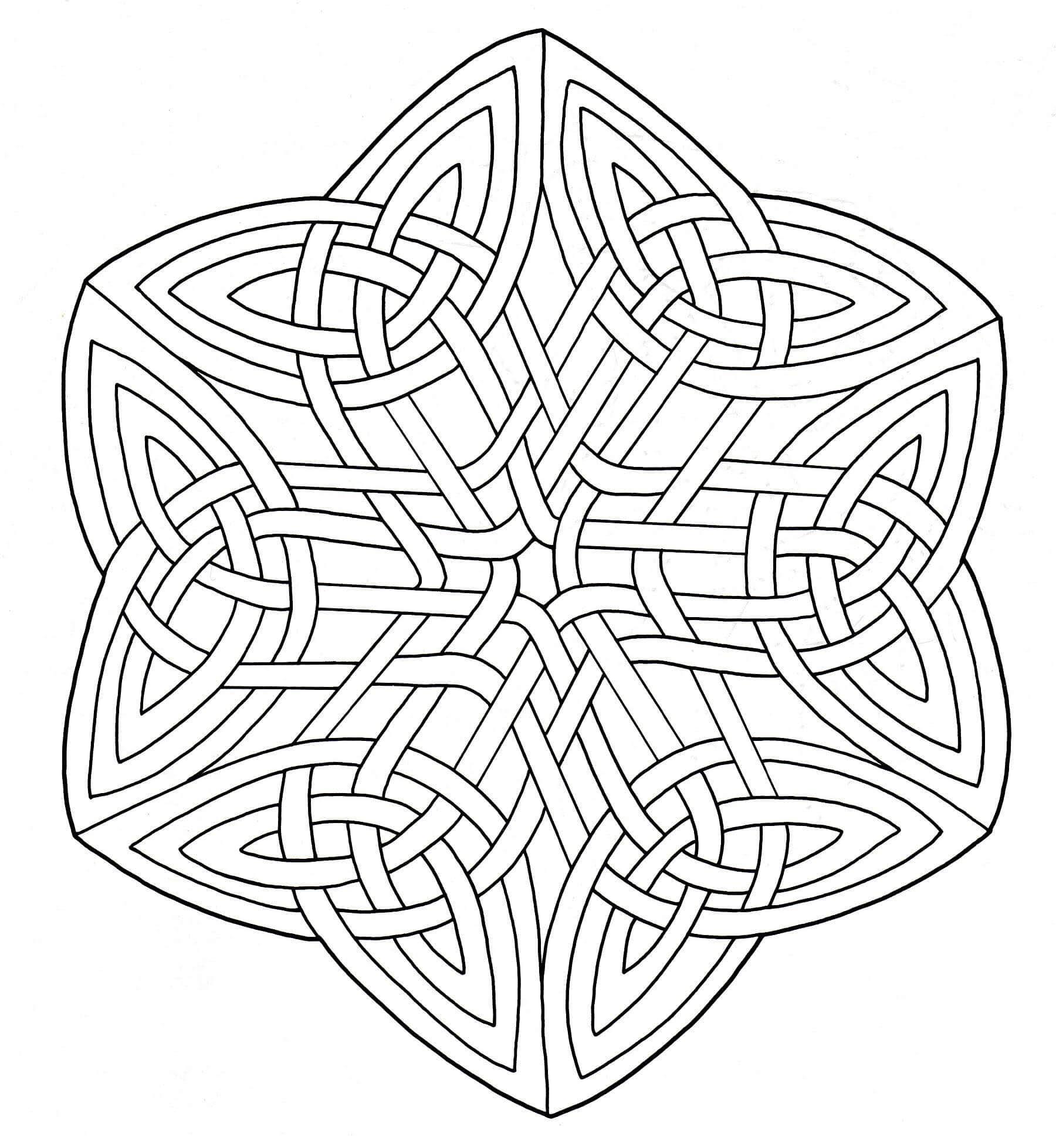 Beau Coloriages à Imprimer Gratuit Mandala