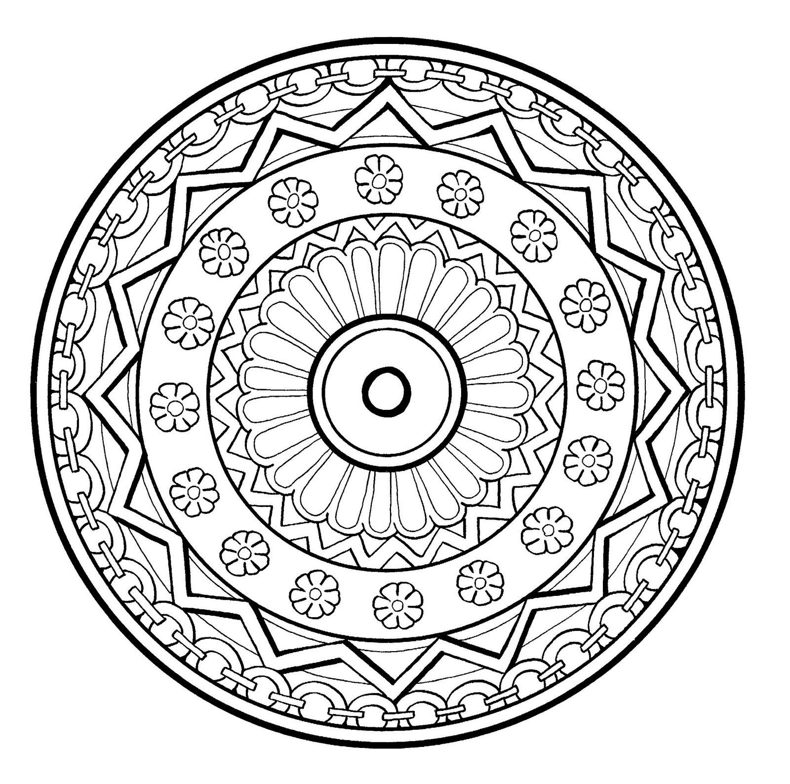 Mandalas de difficult normale 100 mandalas zen anti stress mandala a colorier gratuit a - Mandalas a colorier gratuit ...