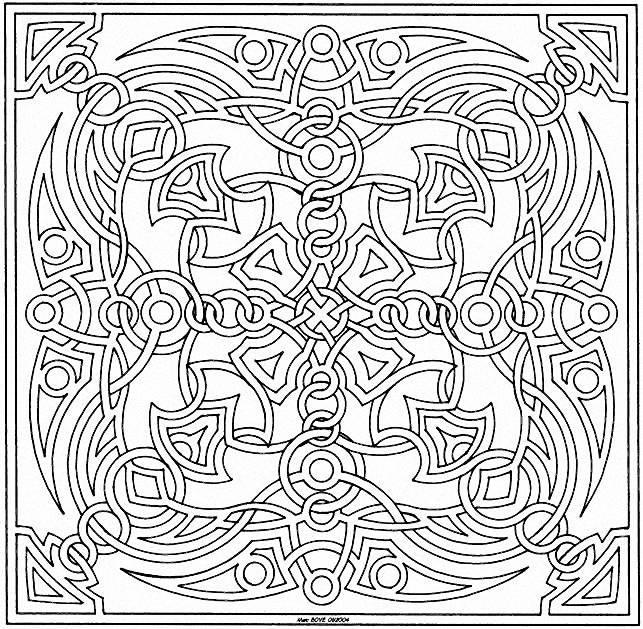 Mandala a colorier gratuit a imprimer 23 mandalas de - Coloriage de rosace a imprimer ...