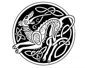 Mandala créature étrange