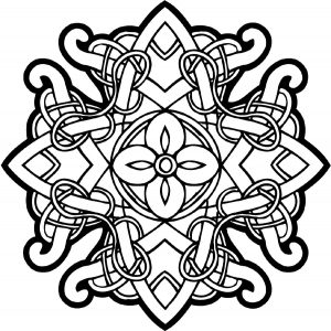 Mandala stylé