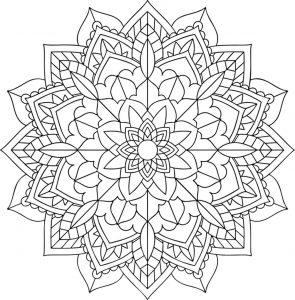 Joli Mandala floral
