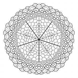 Mandala cercles
