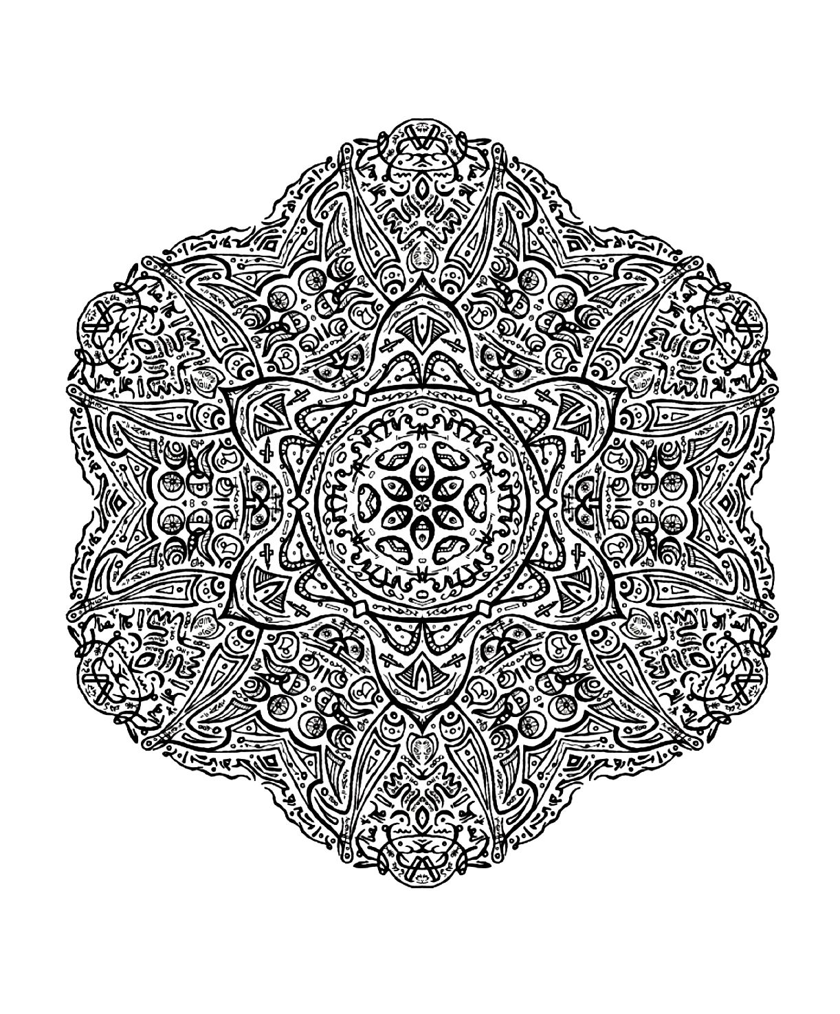 image=very difficult mandala a colorier adulte tres difficile (2) 1