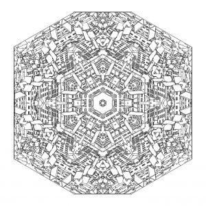 Mandala ville & harmonie