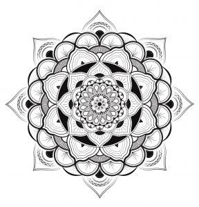Mandala exclusif harmonieux