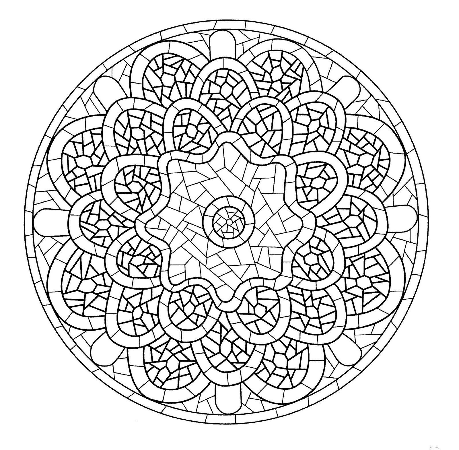 Mandala a colorier zen relax gratuit 19