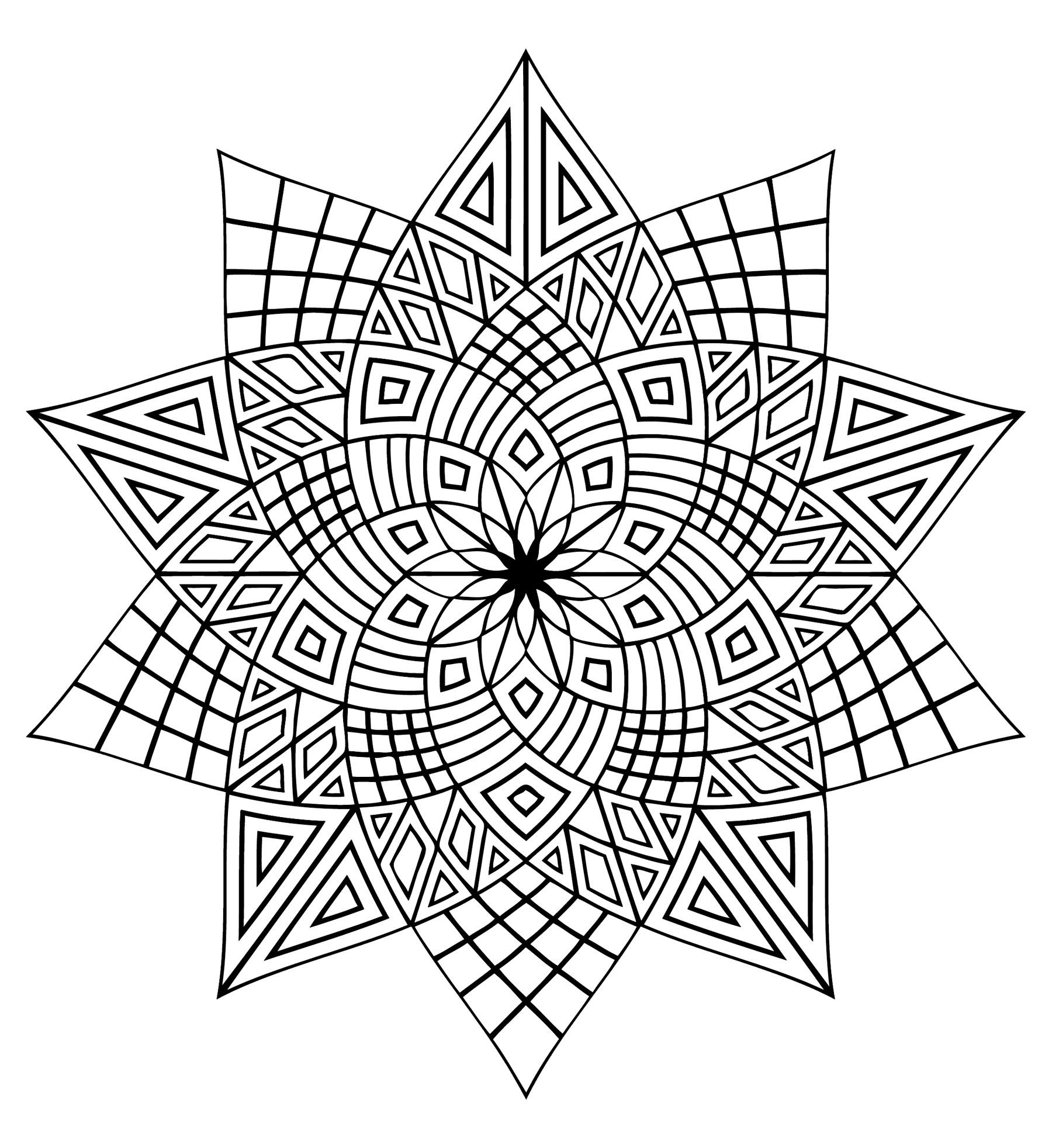 Mandala a colorier zen relax gratuit 20 mandalas zen anti stress 100 mandalas zen anti - Mandalas a colorier gratuit ...