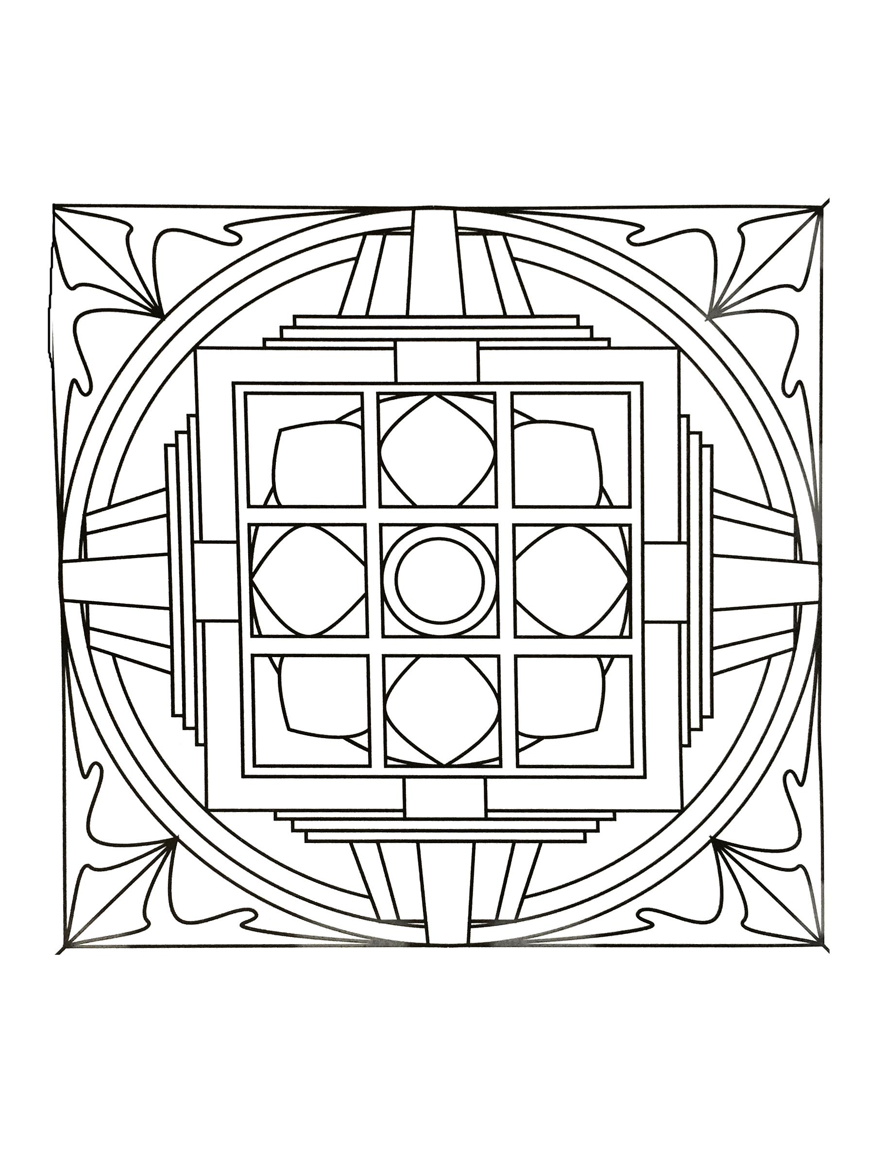 Mandala Art Thérapie Mandalas Zen Anti Stress 100 Mandalas