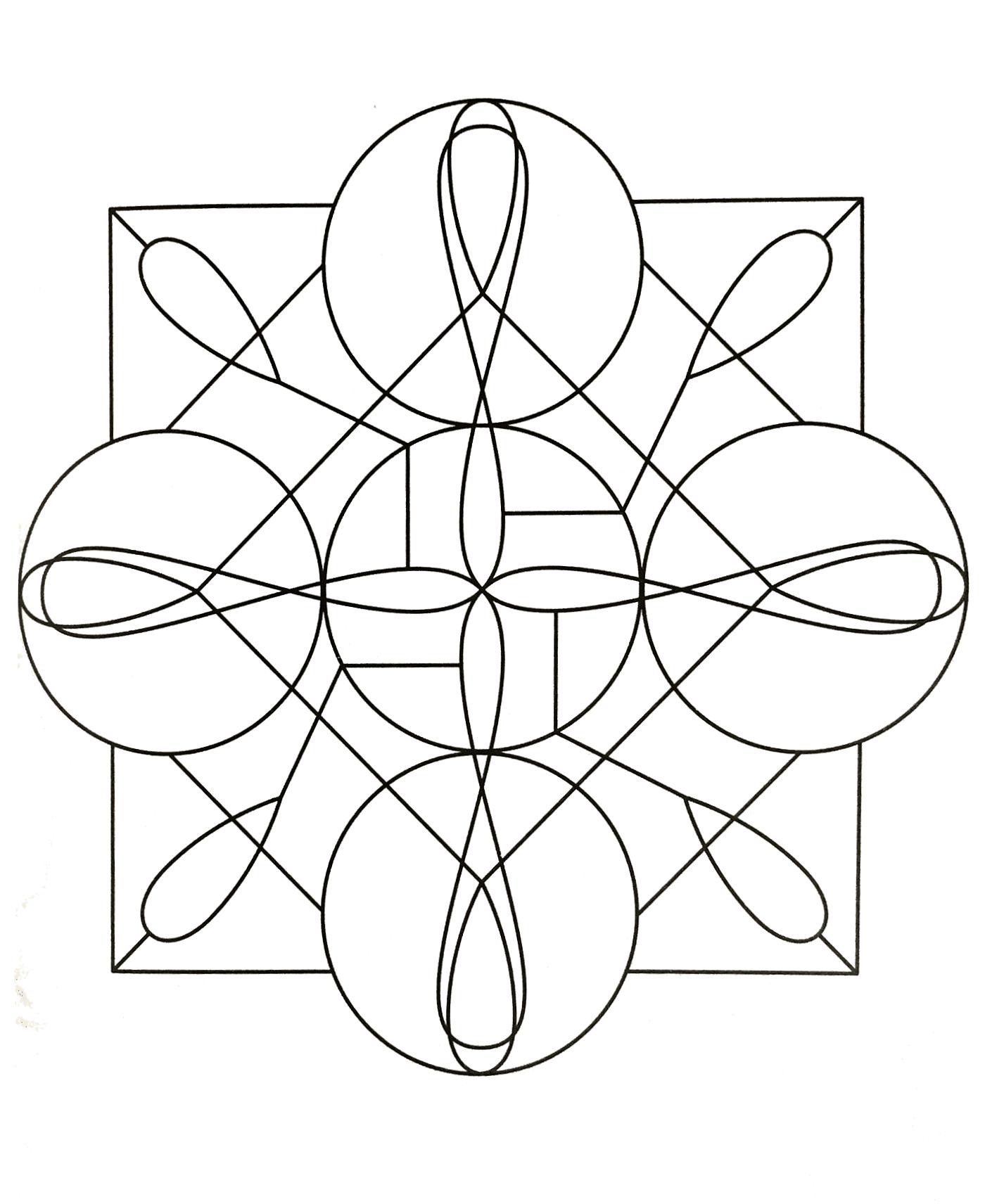 Mandala Gratuit A Imprimer Mandalas Zen Anti Stress 100 Mandalas Zen Anti Stress