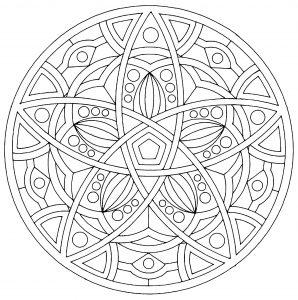 Mandala vectoriel