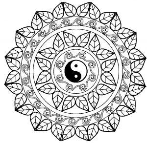 Mandala Yin & Yang