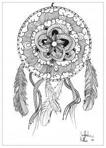Mandala Attrape rêve