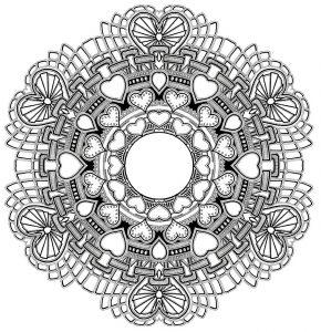 "Mandala ""amour"""