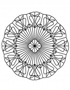 "Mandala ""enchevetrement"""