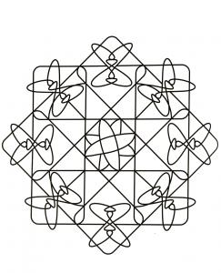 Mandala petites hélices