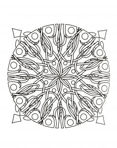 Ronces dans un Mandala