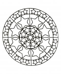 Mandala étoilé