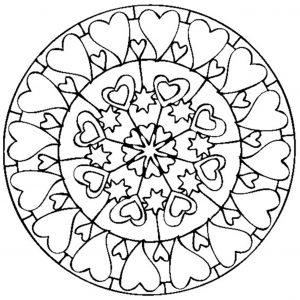 Mandala de la Sain Valentin