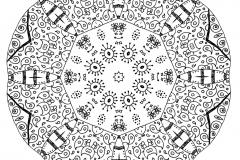 Mandala a colorier zen relax gratuit (11)